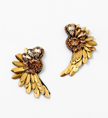Flying Angel Earrings