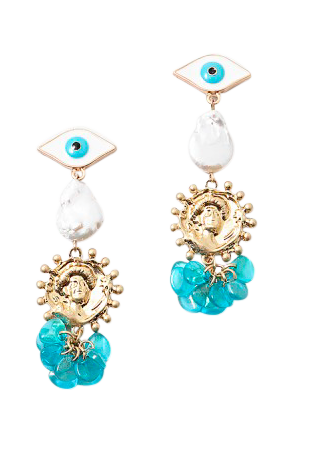 Eyes Like the Ocean Earrings