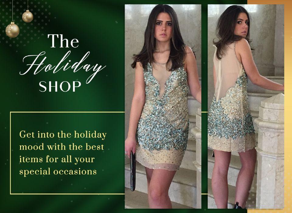 The Holiday Shop - Monique Leshman