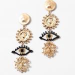 Twisted Pearl Hoop Earrings