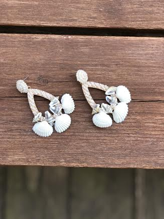 Beach Please Chandelier Earrings