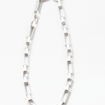 Classic Brushed Gold Chain Link Necklace