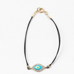 Double Chain Crystal Wrap Bracelet