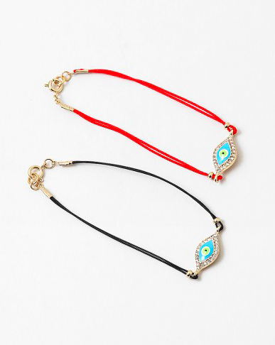 Evil Eye Crystal Protection Bracelet
